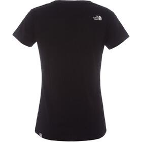 The North Face Simple Dome Kurzarm T-Shirt Damen tnf black/tnf white